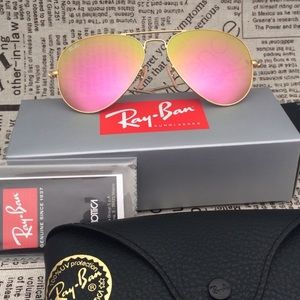 Brand New pink Ray Bans